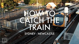 How To Catch The Train To YWAM | Sydney to Newcastle