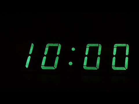 10 Minute Countdown (with inspiring music)