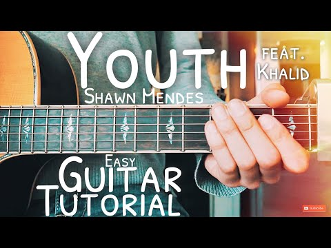 Youth Shawn Mendes Guitar Lesson for Beginners // Youth Guitar // Lesson #479