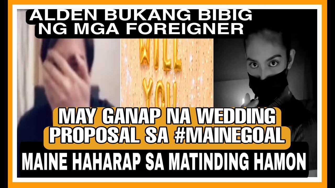 Download ALDEN RICHARDS MAY FOREIGNER NA TAGAHANGA|MAINE HAHARAP SA MATINDING HAMON|GANAP NA WEDDING PROPOSAL