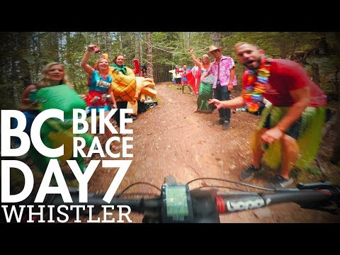 BC Bike Race - Day 7 - Whistler | The final day!