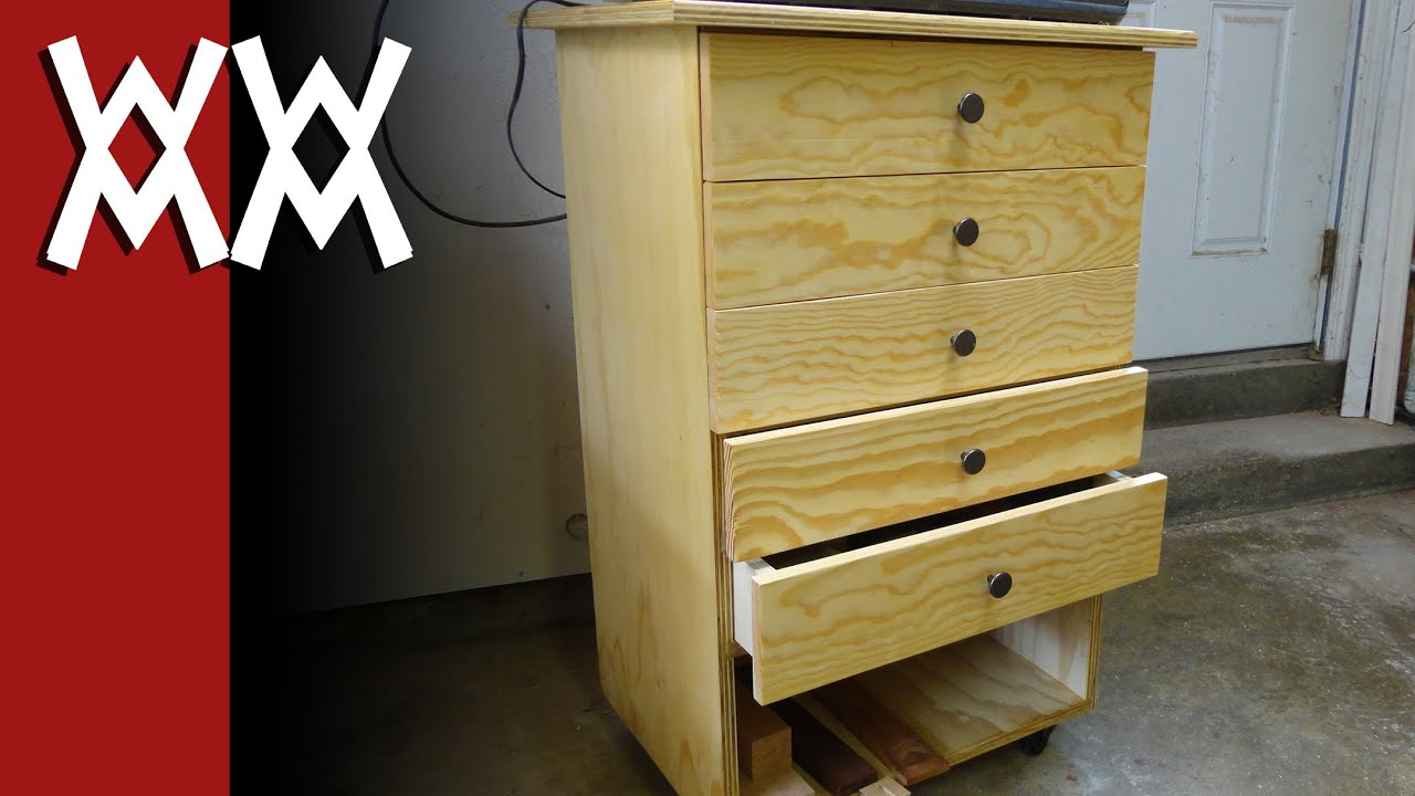 Build a simple shop storage cabinet & Build a simple shop storage cabinet - YouTube