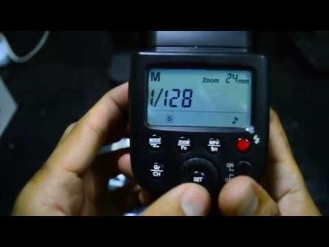GODOX flash TT600 HSS cara setting