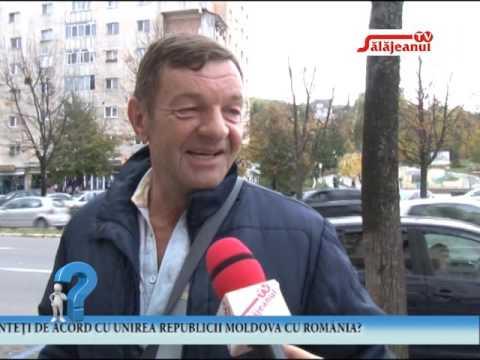 INTREBAREA ZILEI   SUNTETI DE ACORD CU UNIREA REPUBLICII MOLDOVA CU ROMANIA