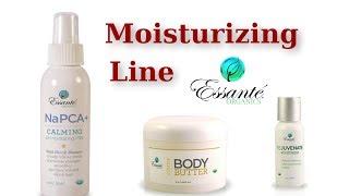 Napca Plus Hydrating, Stress Reducing Mist, Rejuvenate Moisturizer, Citrus Body Butter, Essante