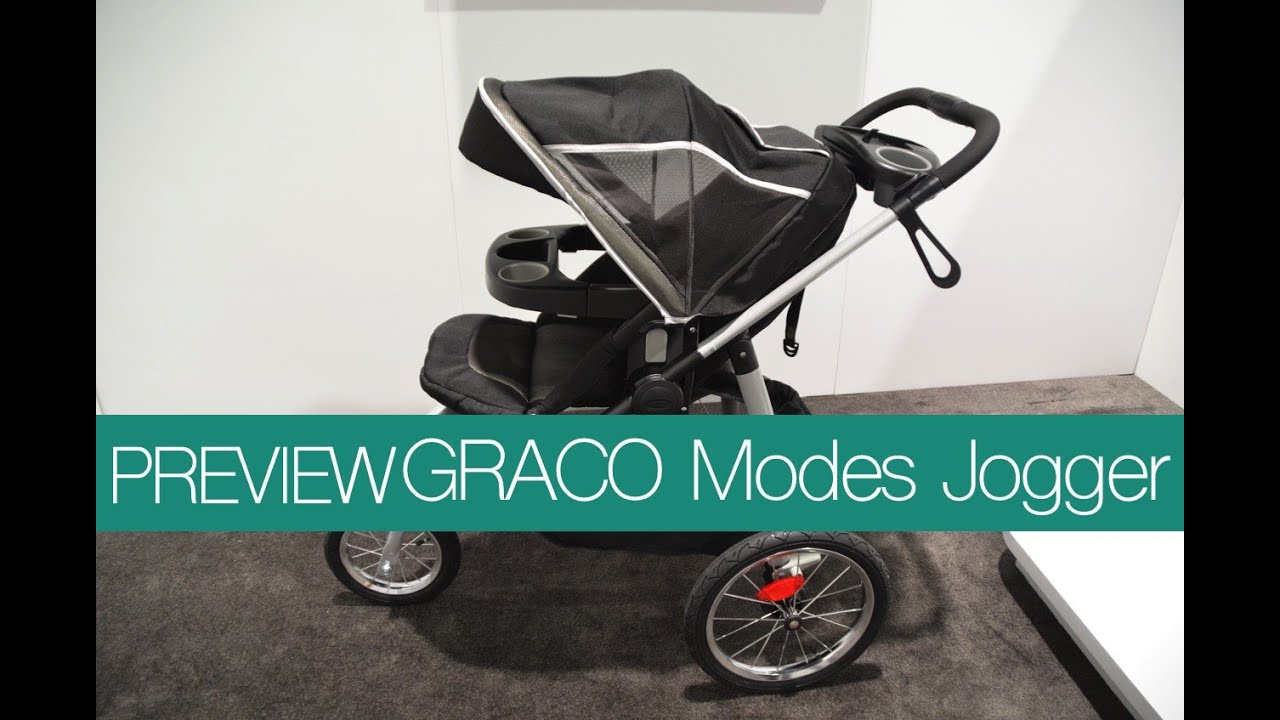 New Graco Modes Jogging Stroller Abc Kids Expo 2015