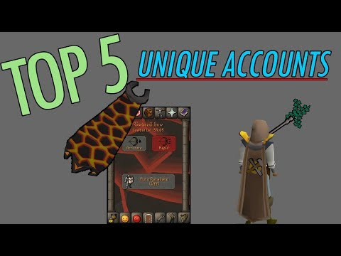 5 Of Runescape's Most Unique Accounts #3