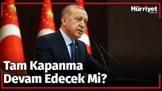 Cumhurbaşkanı Erdoğandan Kontrollü Normalleşme Açıklaması