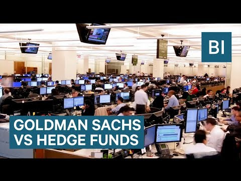 How Working At Goldman Sachs Is Different From A Hedge Fund Job