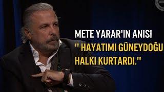 Mete Yarar,  PKK'lı teröristlerin Kurduğu Pusudan Nasıl Kurtulduklarını Anlattı.