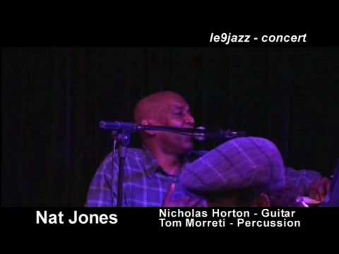 When Life Does You In | Nat Jones @ 9 Jazz Club