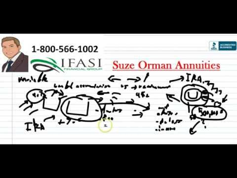 Suze Orman Annuities - Suze Orman On Annuities Review