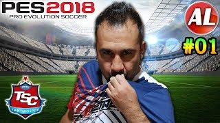 ÇOK PİS AZAR YEDİM! | PES 2018 TANTUNİSPOR ANALİG #01