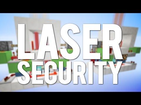 how to make a laser door in minecraft
