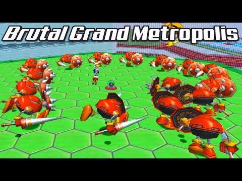Sonic Heroes: Brutal Grand Metropolis Mod