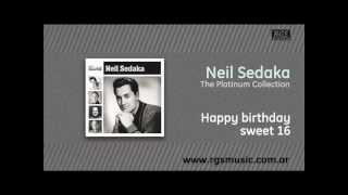 Neil Sedaka - Happy birthday sweet 16