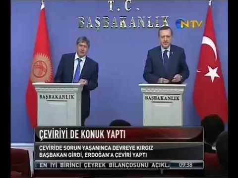 Teşekkürler abi - Kırgızistan Başbakanı