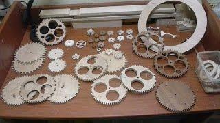 Wooden Gear Clock Maker