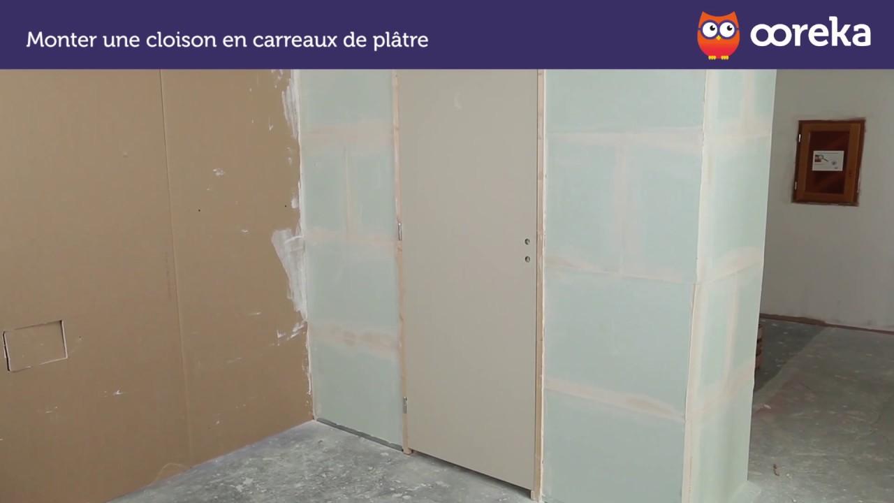 TUTO Monter une cloison en carreaux de plâtre - Ooreka.fr