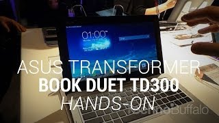 Asus Transformer Book Duet TD300 - Hands On - CES 2014