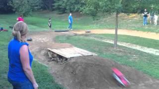Backyard Bashing RC Track Race