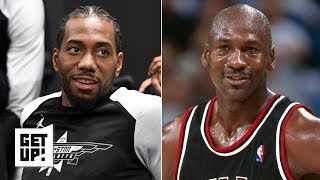 Download Kawhi Leonard reminds me of Michael Jordan - Kendrick Perkins | Get Up! Mp3 and Videos