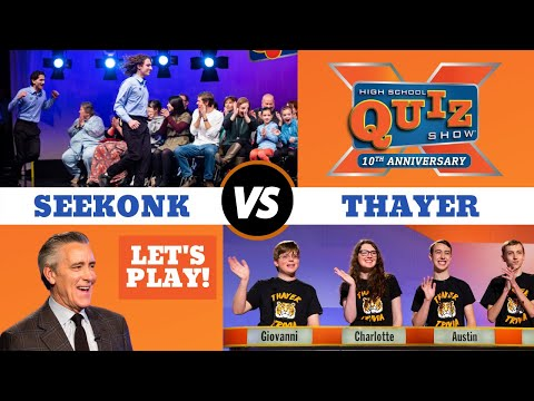 High School Quiz Show | Seekonk VS. Thayer (1004)