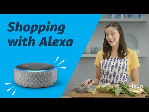 Go Shopping with Alexa   Amazon Echo