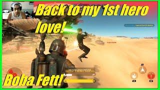 star wars battlefront back to my 1st hero love and hvsv   boba fett vs luke 16 00 k d