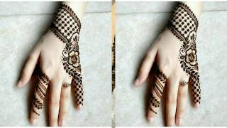 Unique Mehendi Designs for Fastivals season !! Top Mehendi Designs ideas for Carvachoat and Diwali