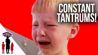 2 Year Old Has Constant Temper Tantrums | Supernanny
