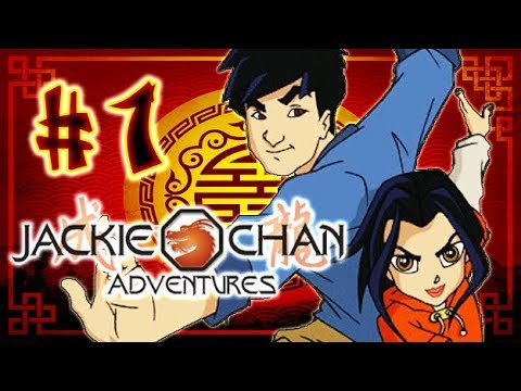 Jackie Chan Adventures Walkthrough Part 1 (PS2) The Beginning - Mexico - Mayan Temple