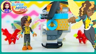 Lego DC Superhero Girls Bumblebee's Helicopter Build Review Play Kids Toys