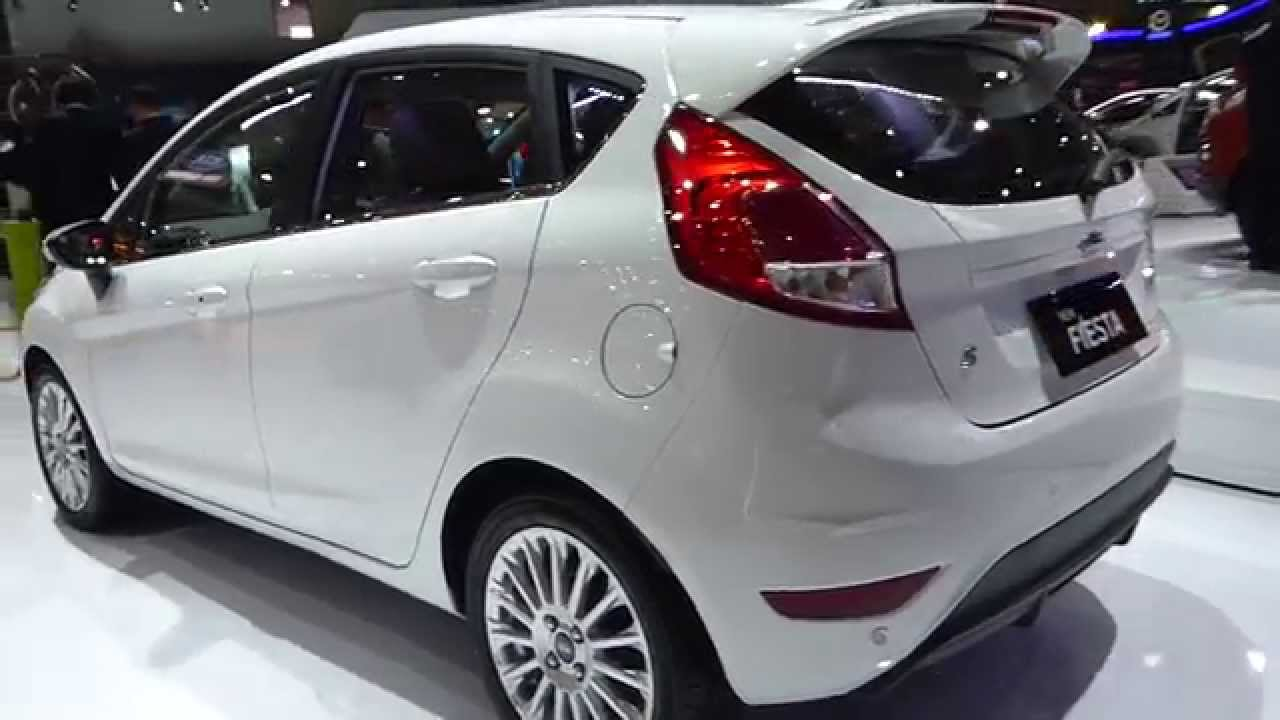 Ford Fiesta Hatchback >> IIMS 2014, New Ford Fiesta 2015 (Exterior & Interior View) - YouTube