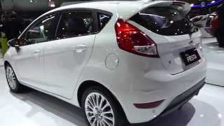 IIMS 2014, New Ford Fiesta 2015 (Exterior & Interior View)