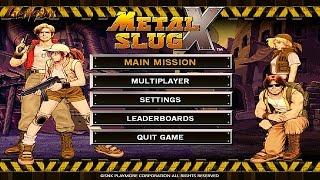 Metal Slug X (PC/Steam Gameplay)