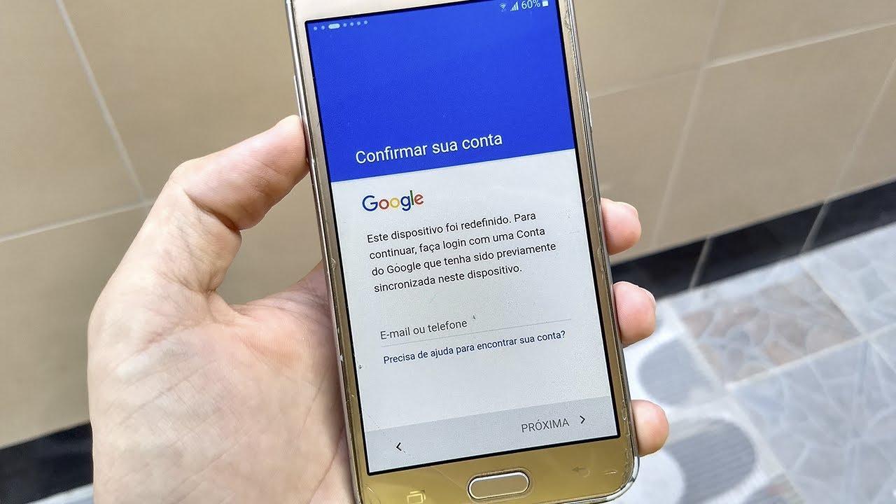 Como Remover Conta Google Do J5 Sem Pc Youtube