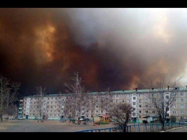Пожары в Забайкалье: Сгорело 100 домов