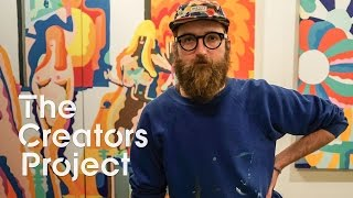 Inside a Limitless Cartoon Universe | The Creators Project Meets Mike Perry