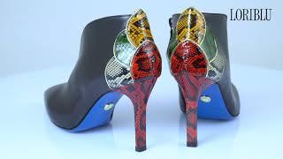 Обзор обуви | Ботильоны LORIBLU 19FW024