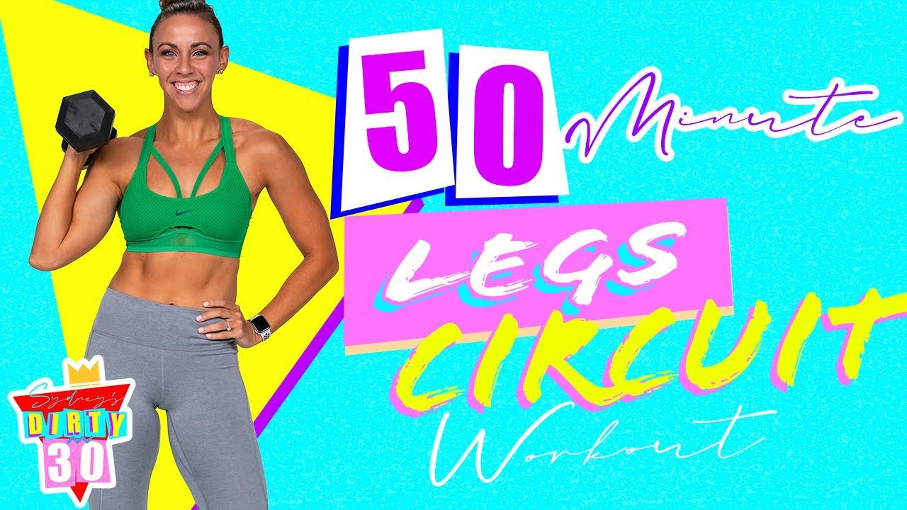 50 Minute Legs Workout Sydney Cummings