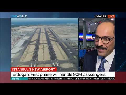 Erdogan inaugurates Istanbul's new airport