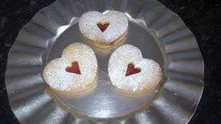 Linzer Cookies   How To Make
