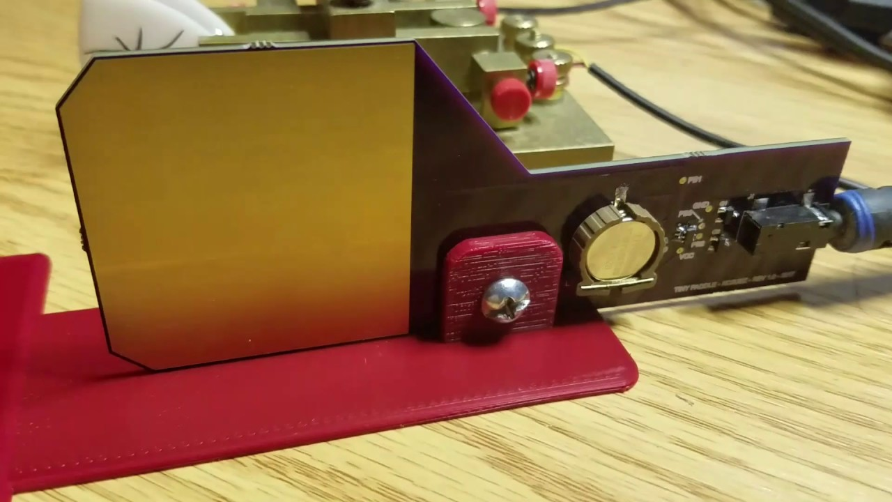 World's Thinnest Morse Code Touch Paddle | Hackaday