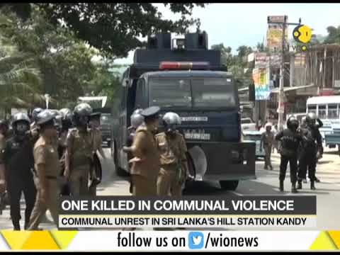 Curfew imposed in Sri Lanka's Kandy, one killed in communal unrest