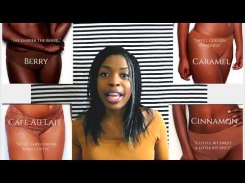 Baring it all!!: My Nubian Skin Lingerie Review