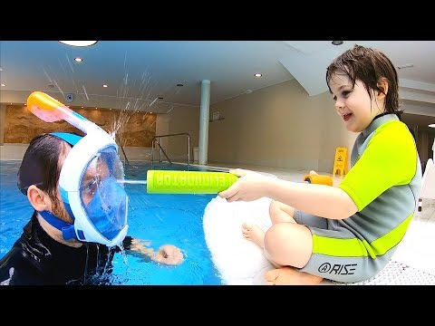 Sports Day in the Pool | Kids Swimming Fun | Learn Sports for Kids, Children and Toddlers TimKo Kid