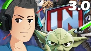 disney Infinity 3.0 STAR WARS НАЧАЛО! ОБЗОР!