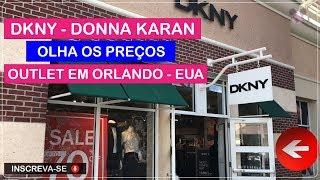 DKNY Donna Karan no Orlando Premium Outlets com Preços Imperdíveis no Viajar Muda Tudo