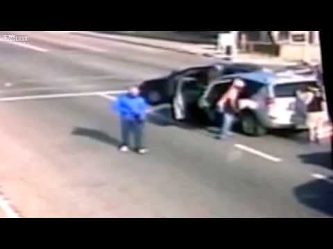 Carjacking in Johannesburg CBD